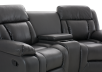 Dark Grey Reclining Loveseat product photo other07 S