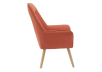 Orange Upholstered Side Chair product photo other02 S