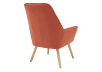 Orange Upholstered Side Chair product photo other05 S