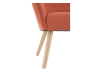 Orange Upholstered Side Chair product photo other06 S