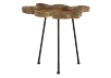 Wood and Metal Accent Table product photo