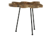 Wood and Metal Accent Table product photo other01 S