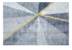 "61x93"" Grey and Golden Yellow Rug product photo other04 S"