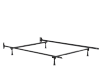 Adaptable Metal Bed Base with Headrest Fixtures - Twin Double Queen product photo