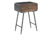 Brown Wood and Metal Accent Table product photo other01 S
