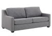 Grey Upholstered Sofa-Bed - Double Bed product photo other01 S