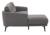 Grey Upholstered Sectional Sofa product photo other02 S