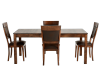 Brown Birch Kitchen Room Furniture product photo other01 S