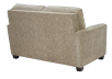 Beige Upholstered Loveseat product photo other05 S