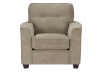Beige Upholstered Armchair product photo