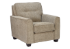 Beige Upholstered Armchair product photo other01 S