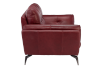 Red Leather Loveseat product photo other02 S
