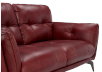 Red Leather Loveseat product photo other03 S