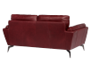 Red Leather Loveseat product photo other05 S