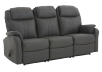 Dark Grey Reclining Upholstered Sofa product photo other01 S