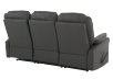 Dark Grey Reclining Upholstered Sofa product photo other08 S