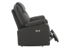 Dark Grey Reclining, Rocking and Battery Motorized Upholstered Armchair product photo other03 S