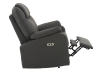 Dark Grey Reclining, Rocking and Battery Motorized Upholstered Armchair product photo other04 S