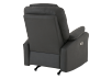 Dark Grey Reclining, Rocking and Battery Motorized Upholstered Armchair product photo other08 S