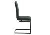 Dark Grey Upholstered Chair product photo other02 S