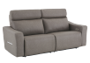 Brown-Grey Reclining and Battery Motorized Upholstered Sofa with Adjustable Headrests - ELRAN product photo other01 S