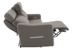 Brown-Grey Reclining and Battery Motorized Upholstered Sofa with Adjustable Headrests - ELRAN product photo other05 S