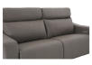 Brown-Grey Reclining and Battery Motorized Upholstered Sofa with Adjustable Headrests - ELRAN product photo other06 S