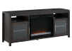 Dark Grey Birch Wood Electric Fireplace - Dimplex product photo other02 S