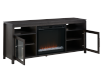 Dark Grey Birch Wood Electric Fireplace - Dimplex product photo other03 S
