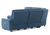 Blue Reclining and Motorized Upholstered Sectional Sofa with Adjustable Headrests - ELRAN product photo other08 S