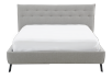 Grey Upholstered - King Bed product photo