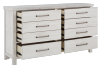 White 8-Drawer Dresser product photo other02 S