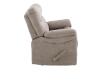 Brown-Grey Reclining Upholstered Loveseat - ELRAN product photo other02 S