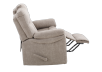 Brown-Grey Reclining Upholstered Loveseat - ELRAN product photo other04 S