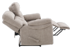 Brown-Grey Reclining Upholstered Loveseat - ELRAN product photo other05 S