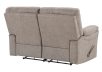 Brown-Grey Reclining Upholstered Loveseat - ELRAN product photo other08 S