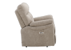 Brown-Grey Reclining, Rocking and Motorized Upholstered Armchair - ELRAN product photo other02 S