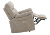 Brown-Grey Reclining, Rocking and Motorized Upholstered Armchair - ELRAN product photo other04 S