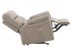 Brown-Grey Reclining, Rocking and Motorized Upholstered Armchair - ELRAN product photo other05 S