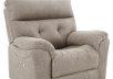 Brown-Grey Reclining, Rocking and Motorized Upholstered Armchair - ELRAN product photo other06 S