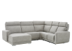 Grey Reclining and Motorized Upholstered Sectional Sofa with Adjustable Headrests - ELRAN product photo other01 S