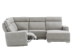 Grey Reclining and Motorized Upholstered Sectional Sofa with Adjustable Headrests - ELRAN product photo other04 S