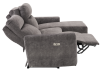 Grey Reclining and Motorized Upholstered Sectional Sofa with Adjustable Headrests - ELRAN product photo other05 S