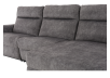 Grey Reclining and Motorized Upholstered Sectional Sofa with Adjustable Headrests - ELRAN product photo other06 S