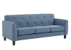 Blue Upholstered Sofa product photo other01 S