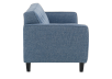 Blue Upholstered Sofa product photo other02 S