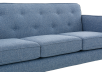 Blue Upholstered Sofa product photo other03 S