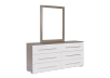 White and Grey Bedroom Set - Queen product photo other03 S