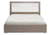 White and Grey - Queen Bed product photo