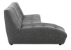 Dark Grey Upholstered Modular Sectional Sofa product photo other02 S